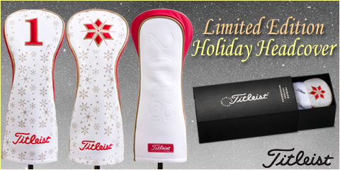 Titleist Limited Edition Holiday Headcover Set