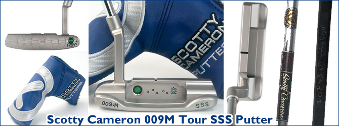 Scotty Cameron 009M Tour SSS Putter