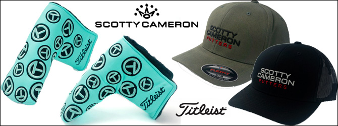 Scotty Cameron Tour Items