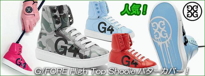 人気!G/FORE High Top Shooie パターカバー!
