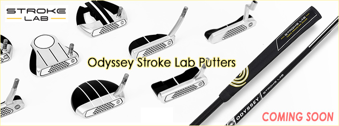 Odyssey Stroke Lab Putters!! COMING SOON