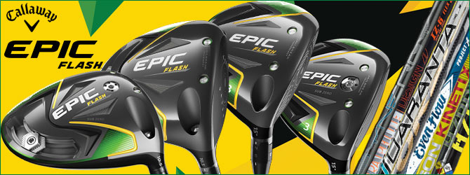 Callaway Epic Flash Custom Woods