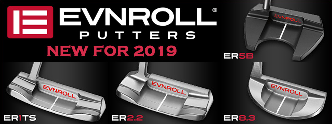 NEW FOR 2019 evnroll Putter
