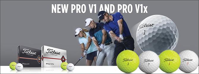 タイトリスト Pro V1 & Pro V1x ゴルフボール