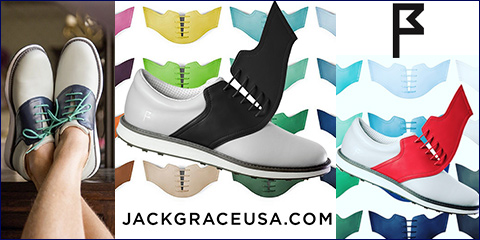 Jack Grace INNOVATOR 1.0 Custom Golf Shoes