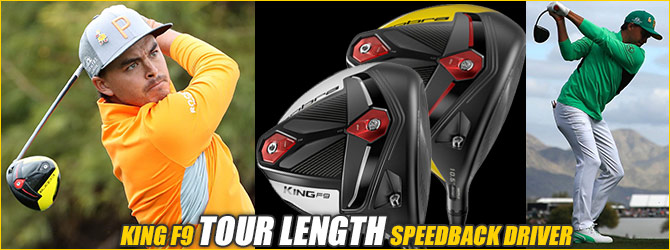 KING F9 TOUR LENGTH SPEEDBACK DRIVER