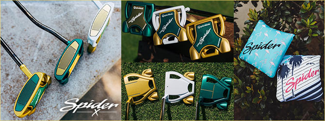2019!NEW MY SPIDER X PUTTERS パター!