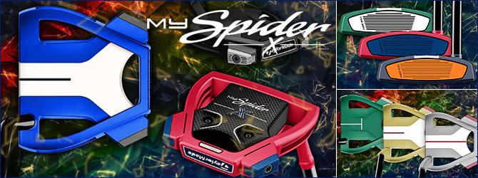 テーラーメイド My Spider X カスタムパター