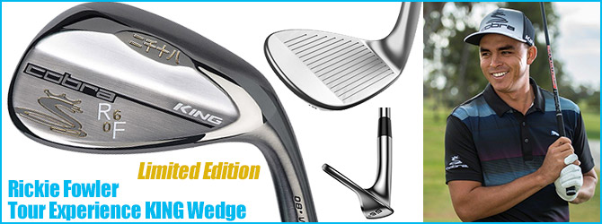 Rickie Fowler Tour Experience KING Wedge Limited Edition