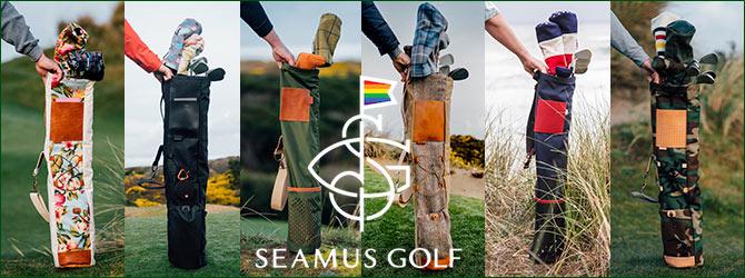Seamus Golf Fescue Project Sunday Bag
