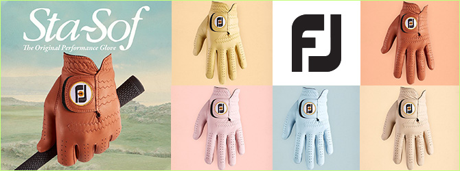 FootJoy StaSof Limited Edition Gloves (3 Gloves)