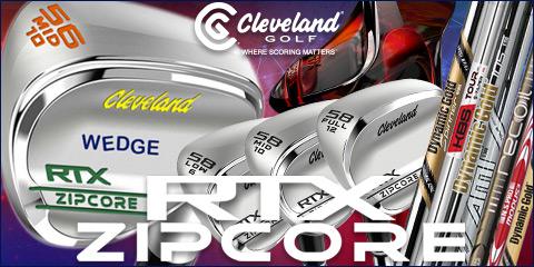 Cleveland RTX ZipCore Custom Wedges (カスタムウェッジ)