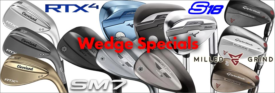 Wedge Specials: RTX-4, SM7, S18, MG1