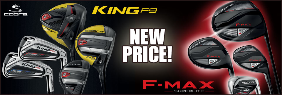 Cobra F9 & FMAX SL Price Drop