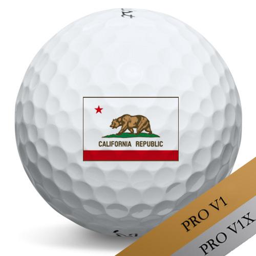 Titleist 2018 Pro V1 V1x California Logo Golf Balls