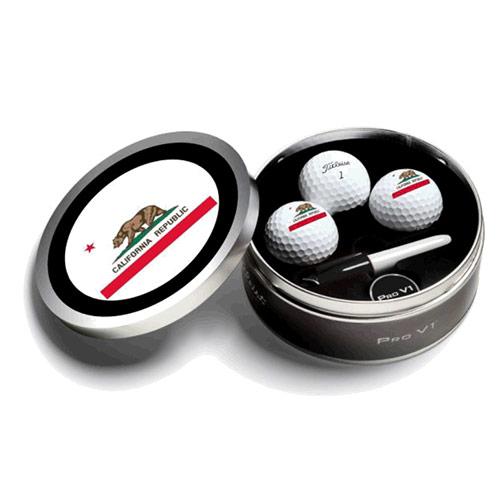 Titleist 2019 PRO V1 California TIN/LOGO Golf Ball