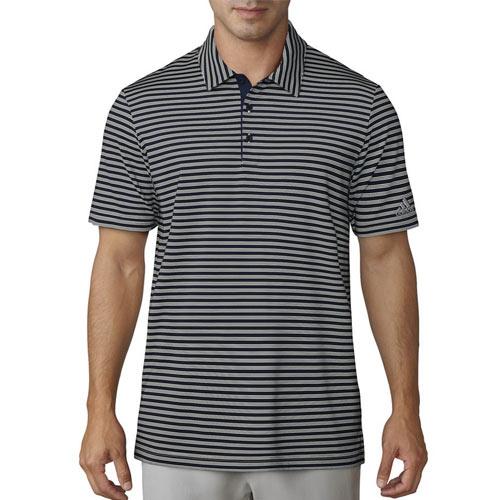 adidas Ultimate 2-Color Stripe Polo