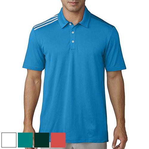 adidas Essential 3 Stripe Polo Shirt