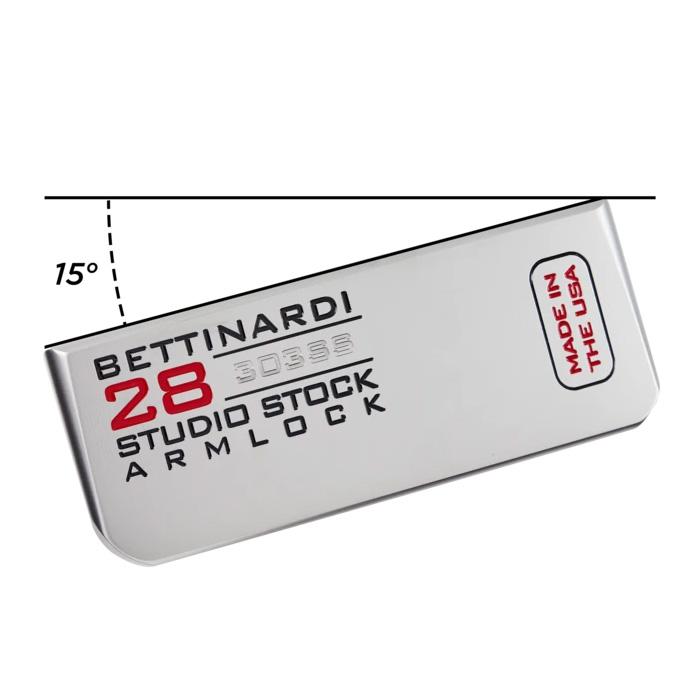 ベティナルディ2021スタジオストック28アームロックパター 口コミ 評判 最安値 価格