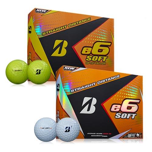 Bridgestone e6 SOFT Straight Distance Golf Balls