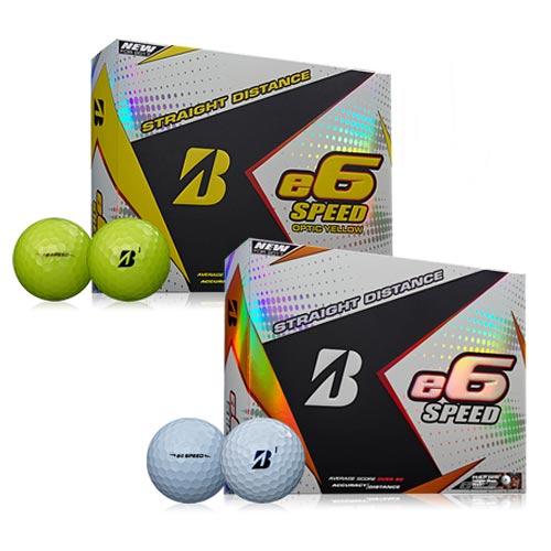 Bridgestone e6 SPEED Straight Distance Golf Balls