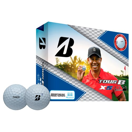 Bridgestone 2019 Tiger Woods Edition Tour B XS Golf Ball