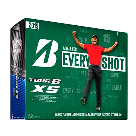 Bridgestone Limited Edition 2019 Masters TOUR B XS Golf Ball