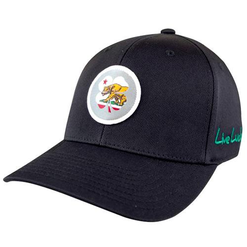 Black Clover California Flag Nation Hat