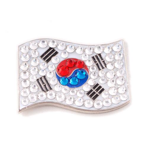 Bonjoc Ladies Korea Flag Ball Marker