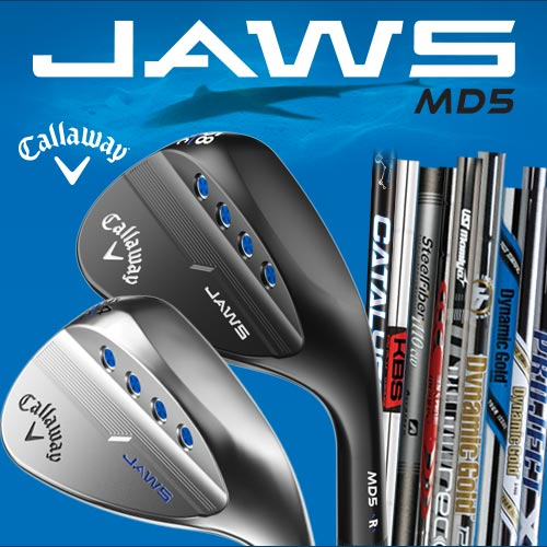Callaway JAWS MD5 Custom Wedges