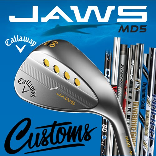Callaway JAWS MD5 Custom Wedges with Paint Fill