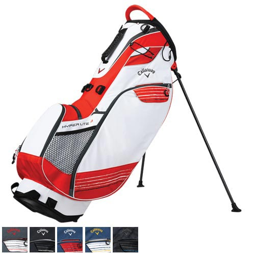 Callaway 2018 Hyper-Lite 3 Double Strap Stand Bag