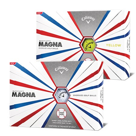 Callaway 2019 Supersoft MAGNA Golf Ball