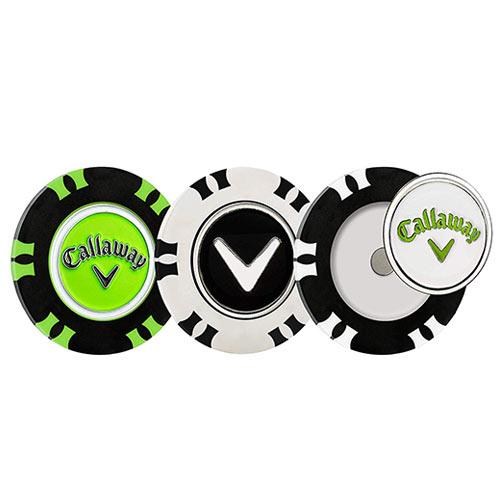 Callaway Dual-Mark Poker Chips Ball Marker