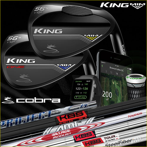 Cobra KING MIM Black Custom Wedge