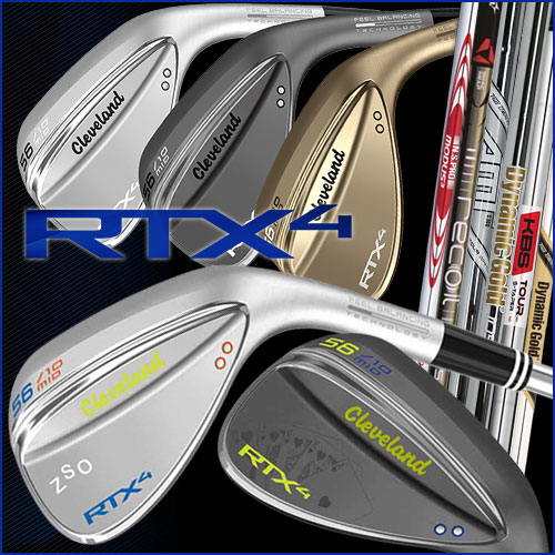 Cleveland RTX-4 Custom Wedges
