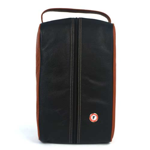 Fairway Golf Original Leather Shoe Bag