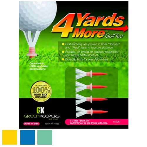 4 Yards More Golf Tees (Pack of 4)