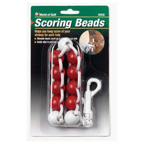 Jef World of Golf Scoring Beads