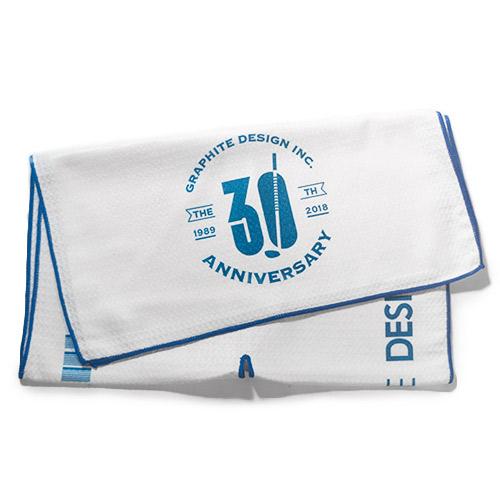 Graphite Design 30th Anniversary Towel