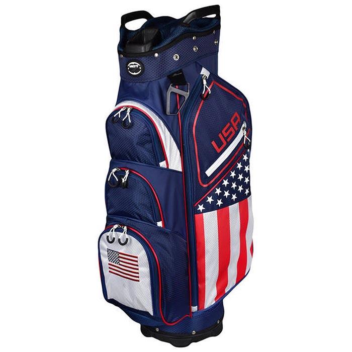 Hot-Z USA Flag Cart Bag