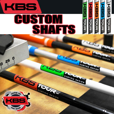 KBS Custom Wedge & iron Shafts