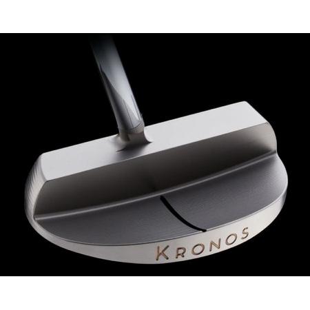 Kronos Golf Mandala Raw Stainless Steel Putter