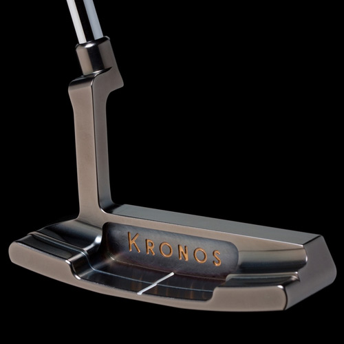 Kronos Golf Touch Refined PVD Carbon Putter