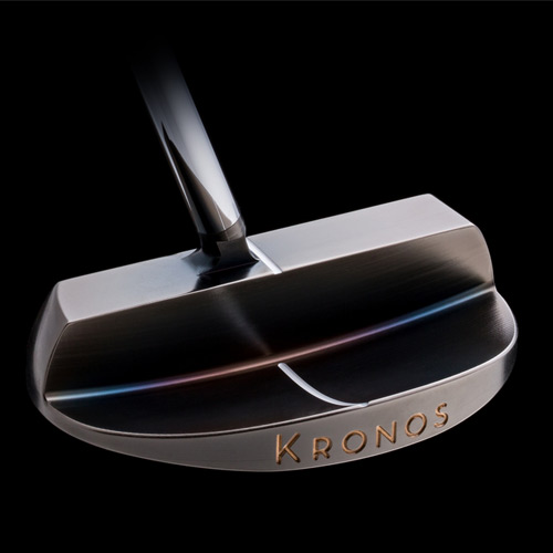 Kronos Golf Mandala Refined PVD Carbon Putter