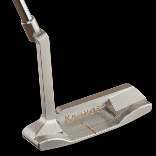 Kronos Golf Release Raw Stainless Steel Putter