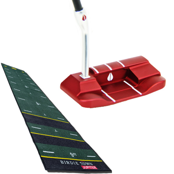 Bloodline R1-J Blade Putter with Birdie Maker Mat