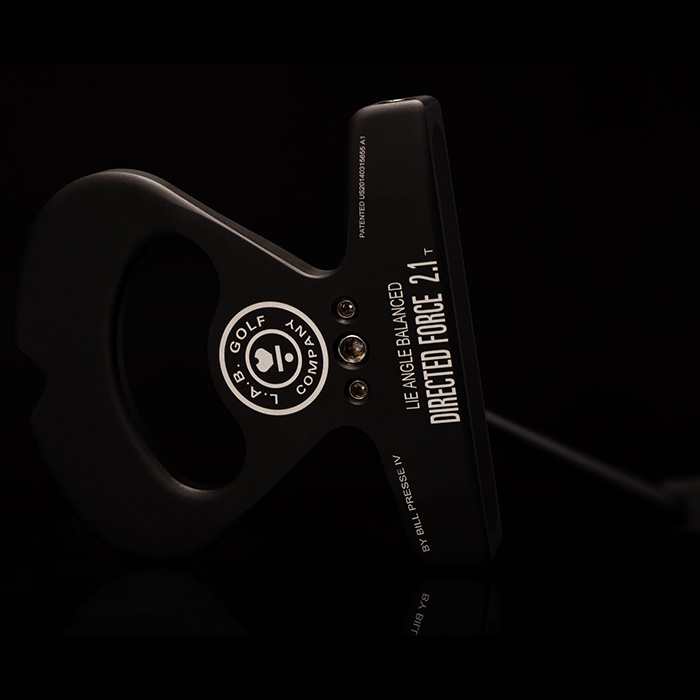 L.A.B. Golf Directed Force 2.1 Black Head Putter