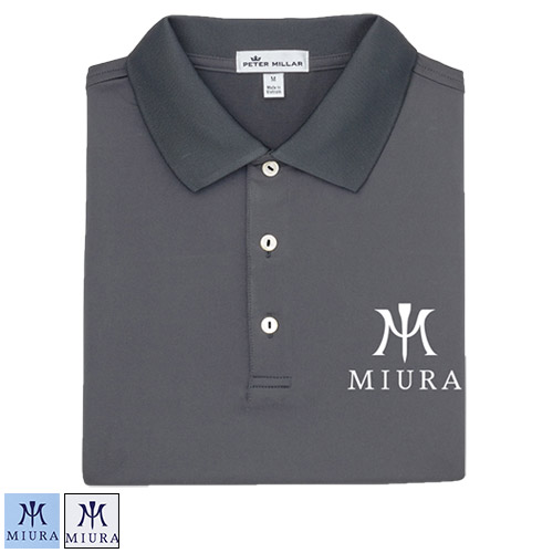 Miura Peter Millar Solid Performance Polo