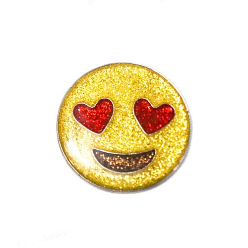 Navika Ladies Emoji Love Golf Ball Marker w/Hat Clip